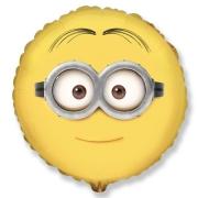 Миньон Дейв лицо, гелиевый, фольгированный шар