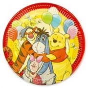 Тарелка бумажная Винни Пух и друзья