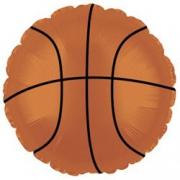 Баскетбольный мяч, гелиевый, фольгированный шар