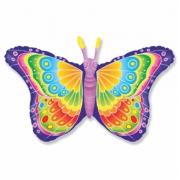 Бабочка кокетка, гелиевый, фольгированный шар
