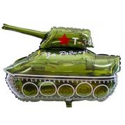 Танк Т-34, гелиевый, фольгированный шар
