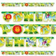 Гирлянда-буквы  С Днем Рождения Лимпопо