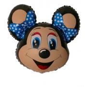 Лолли Маус, гелиевый, фольгированный шар