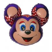 Бабси Маус (фиолетовый), гелиевый, фольгированный шар