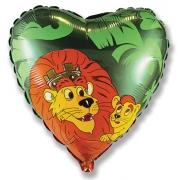 Король Лев, гелиевый, фольгированный шар