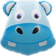 Голова Бегемота, гелиевый, фольгированный шар