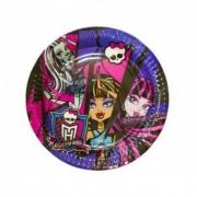Тарелка бумажная Monster High (Монстр Хай)