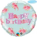 Me To You Happy Birthday Розы Розовые, гелиевый, фольгированный шар