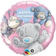Me To You Happy Birthday Друзья, гелиевый, фольгированный шар