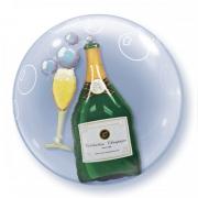 Шампанское и Бокал, шар в шаре