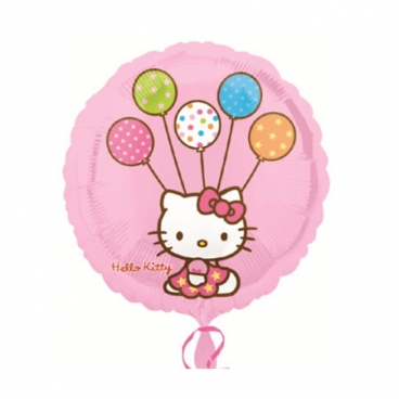Hello Kitty (Хэлло Китти), гелиевый, фольгированный шар