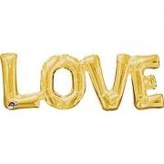Love, гелиевый, фольгированный шар