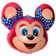 Бамси Маус, гелиевый, фольгированный шар