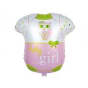 Боди для девочки, гелиевый, фольгированный шар