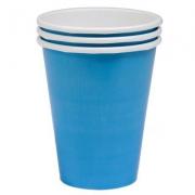 Стакан бумажный Голубой (Caribbean Blue)