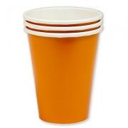 Стакан бумажный Оранжевый (Orange Peel)