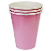 Стакан бумажный Розовый (Pink)