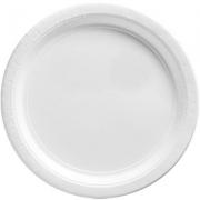 Тарелка бумажная Белая (Frosty White)