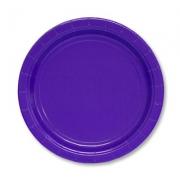 Тарелка бумажная Фиолетовая (Purple)