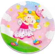 Тарелка бумажная Звездная фея