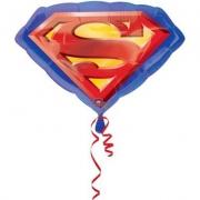 Супермен эмблема, гелиевый, фольгированный шар