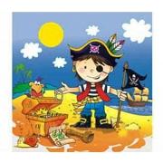 Салфетка Маленький пират
