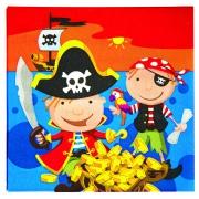 Салфетка Веселые пираты