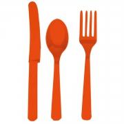 Столовые приборы, Orange Peel, пластмассовые