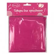 Скатерть полиэтиленовая Hot Pink