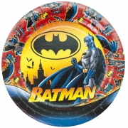 Тарелка бумажная Бэтмен