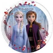 Тарелка бумажная Холодное Сердце 2 (Frozen 2)