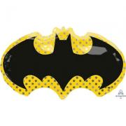 Бэтмен Летучая мышь, гелиевый, фольгированный шар