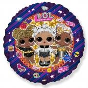 Куклы ЛОЛ, гелиевый, фольгированный шар