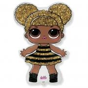 Куклы ЛОЛ QUEEN BEE, гелиевый, фольгированный шар