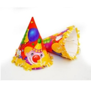 Колпак с бахромой Клоун с шарами