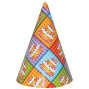 Колпак Торт Birthday