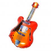 Гитара, гелиевый, фольгированный шар