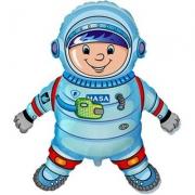 Астронавт, гелиевый, фольгированный шар