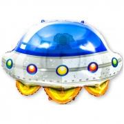 Космический корабль НЛО, гелиевый, фольгированный шар