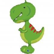 Динозавр Малыш Тираннозавр, гелиевый, фольгированный шар
