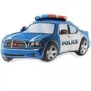 Машина Полиция, гелиевый, фольгированный шар