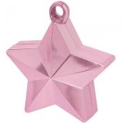 Грузик для шара Звезда розовая