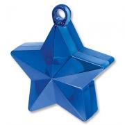 Грузик для шара Звезда синяя