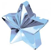 Грузик для шаров Звезда светло-голубая