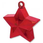 Грузик для шаров Звезда красная