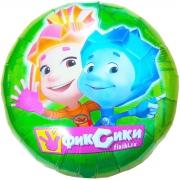 Фиксики, гелиевый, фольгированный шар