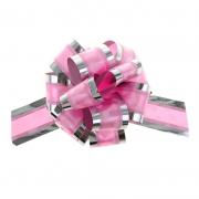 """Бант-шар №5 """"Воздушные сердца"""", цвет розовый"""