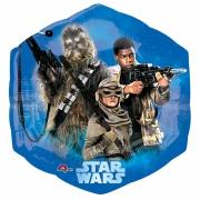 Звездные войны 7, гелиевый, фольгированный шар