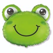 Голова Лягушонка, гелиевый, фольгированный шар