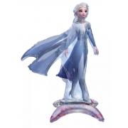 Холодное Сердце 2 Эльза, ходячая фигура, фольгированный шар